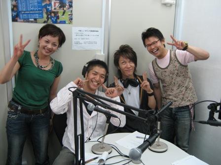 右から、長さん、吉野さん(コス∞モス)、森田さん(コス∞モス)、野上さん